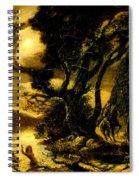 Siegfried And The Rhine Maidens Spiral Notebook