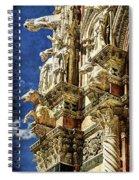 Siena Duomo Statues 2 Spiral Notebook