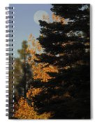 Sierra Autumn Moonset Spiral Notebook