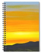 Sierra Foothills Sunrise Spiral Notebook