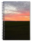 Sierra Foothills Sunset Spiral Notebook