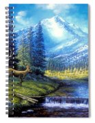 Sierra Mountain Meadow   Spiral Notebook