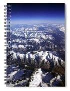 Sierra Nevada Range Spiral Notebook
