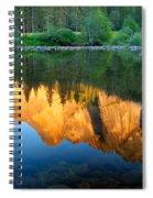Sierras Reflected Spiral Notebook
