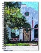 Siesta Key Beach Cottage Spiral Notebook