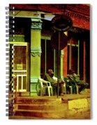 Siesta Time Spiral Notebook