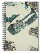 Sightseeing Scrapbook Spiral Notebook