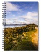 Sightseeing Southern Tasmania Spiral Notebook
