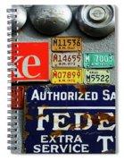 Sign Me Up 5 Spiral Notebook