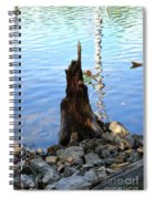 Sign Of Life Spiral Notebook
