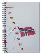 Signal Flags Spiral Notebook