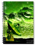 Signal From Space Spiral Notebook
