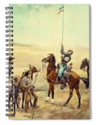 Signaling The Main Command 1885 Spiral Notebook