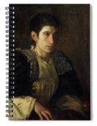 Signora Gomez D'arza Spiral Notebook