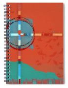 Signpost Up Ahead Spiral Notebook