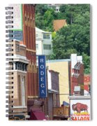 Signs And Historic Buildings Spiral Notebook