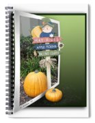 Signs Of Halloween Spiral Notebook