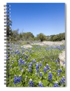 Signs Of Spring In Texas Spiral Notebook