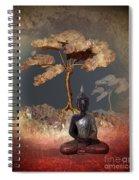 Silence -b- Spiral Notebook