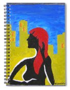 Silence In The City Spiral Notebook