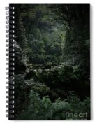 Silence Is Round Me   - Mokulehua Spiral Notebook