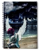 Silence Of An Angel Spiral Notebook