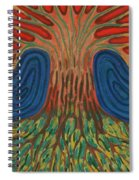 Silence Of Night Spiral Notebook