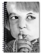 Silence Please  Spiral Notebook
