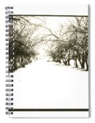 Silenced By The Snow Spiral Notebook