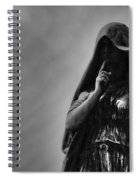 Silent Angel Spiral Notebook