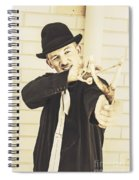 Silent Assassin With Target In Sight Spiral Notebook