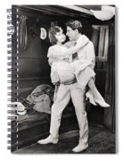 Silent Film Still: Ships Spiral Notebook