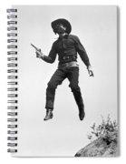 Silent Film Still: Western Spiral Notebook