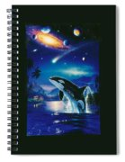 Silent Journey Christian Riese Lassen Spiral Notebook