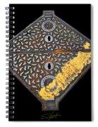 Silent Knight Spiral Notebook