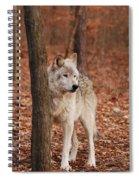 Silent One Spiral Notebook