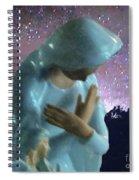 Silent Prayer Spiral Notebook