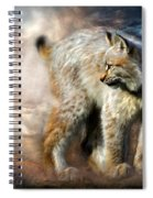 Silent Spirit Spiral Notebook
