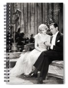 Silent Still: Couples Spiral Notebook