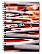 Too Much Violins In Film Spiral Notebook