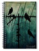 Silent Threats Spiral Notebook