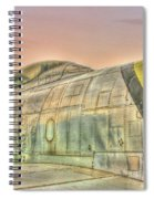 Silent Warrior Spiral Notebook