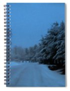 Silent Winter Night  Spiral Notebook