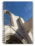 Silent Witness - Carmo Convent Roofless Ruin In Lisbon Portugal Spiral Notebook