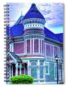 Silent Witness Spiral Notebook