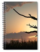 Silhouette Spiral Notebook