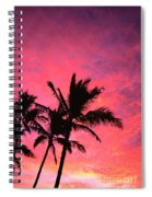 Silhouetted Palms Spiral Notebook