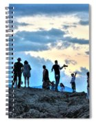 Silhouettes Spiral Notebook