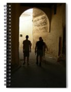 Silhouettes In Fez Spiral Notebook