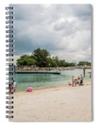 Siloso Beach Spiral Notebook